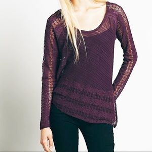 FREE PEOPLE CAROSEL UP AND DOWN Asymmetrical Top